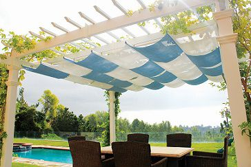 retractable outdoor canopy