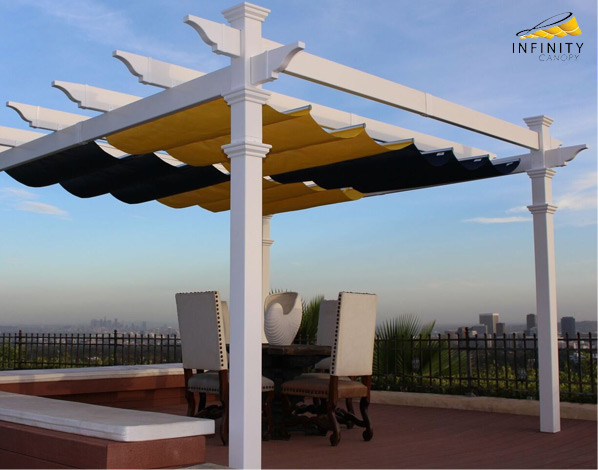 Motorized retractable canopy - Infinity Canopy in Orange County Ca